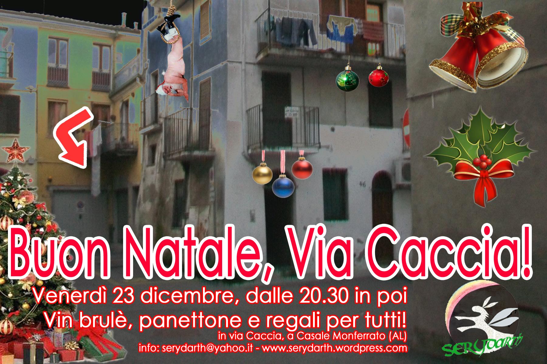 Auguri Di Buon Natale Yahoo.Buon Natale Via Caccia Via Caccia Serydarth Casale